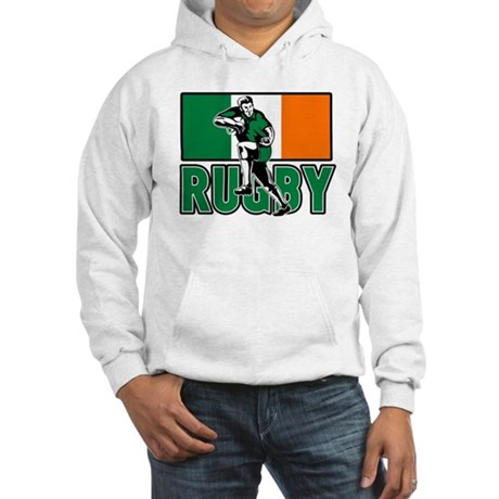 rugby ireland flag Hooded Sweatshirt