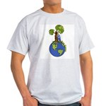 Tree Hugger Ash Grey T-Shirt