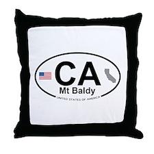 Mt Baldy Throw Pillow