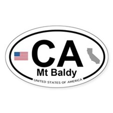 Mt Baldy Decal