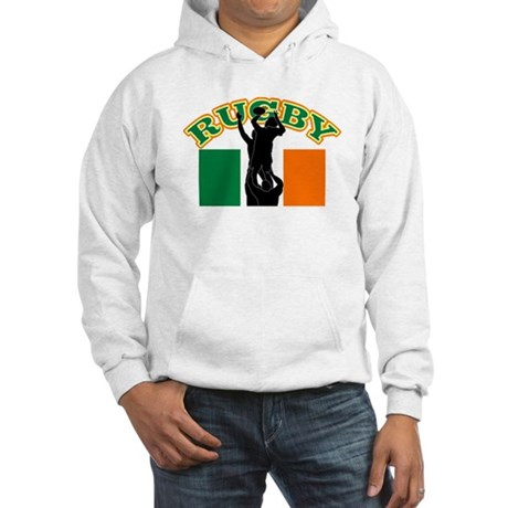Rugby lineout ireland Hooded Sweatshirt