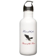 Home of the free... Water Bottle