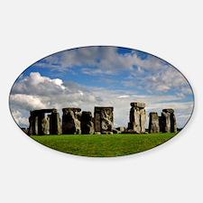 Stonehenge Sticker (Oval)