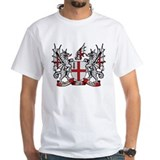 London Mens White T-shirts