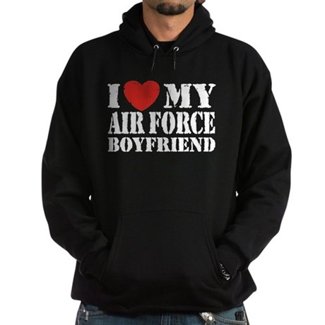 Air Force Boyfriend Hoodie (dark)