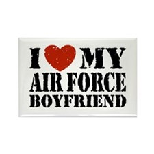 Air Force Boyfriend Rectangle Magnet