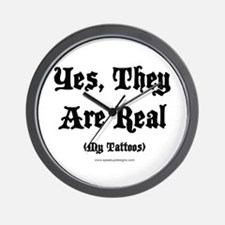Yes, They Are Real Wall Clock