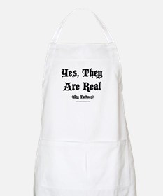 Yes, They Are Real BBQ Apron