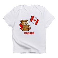 Canada Teddy Bear Infant T-Shirt
