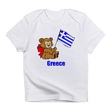 Greece Teddy Bear Infant T-Shirt