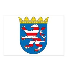 Hessia Coat of Arms Postcards (Package of 8)