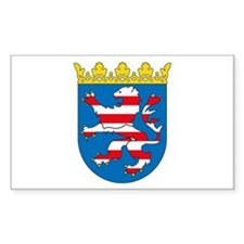 Hessia Coat of Arms Rectangle Decal