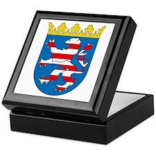 Hessia Coat of Arms Keepsake Box