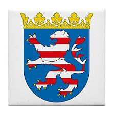 Hessia Coat of Arms Tile Coaster