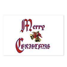 Christmas Bells Postcards (Package of 8)