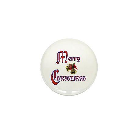 Christmas Bells Mini Button (10 pack)