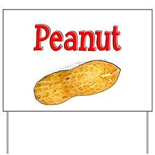 Peanut Yard Sign