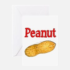 Peanut Greeting Card