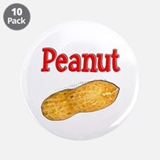"Peanut 3.5"" Button (10 pack)"