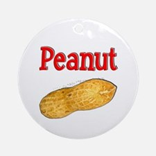 Peanut Ornament (Round)