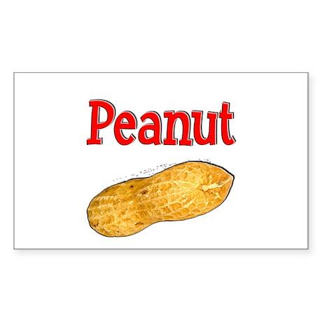 Peanut Sticker (Rectangle)