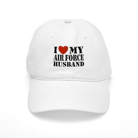 I Love My Air Force Husband Cap