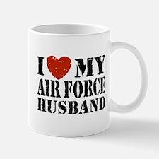 I Love My Air Force Husband Mug