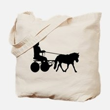 driving silhouette Tote Bag