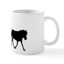 driving silhouette Mug
