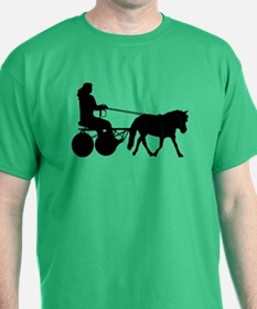 driving silhouette T-Shirt