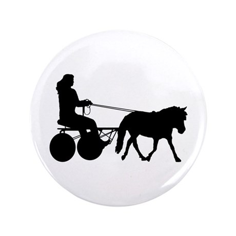"driving silhouette 3.5"" Button"