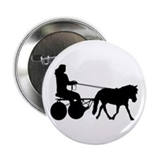 "driving silhouette 2.25"" Button"