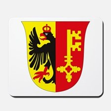 Geneva Coat of Arms Mousepad