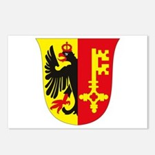 Geneva Coat of Arms Postcards (Package of 8)