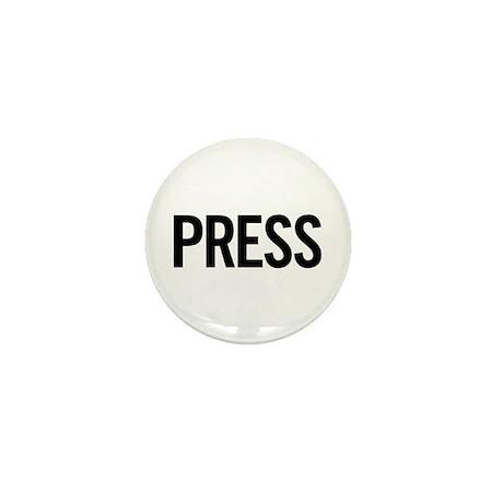 Staff (black) Mini Button