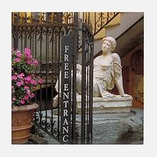 Italy Tile Coaster: <br> Italian gift shop