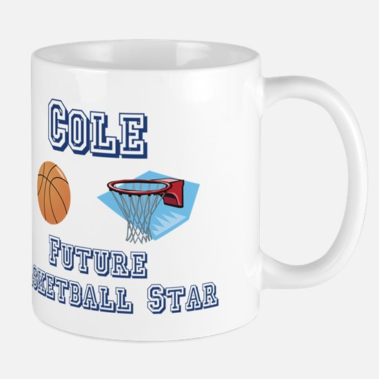 Cole - Future Basketball Star Mug
