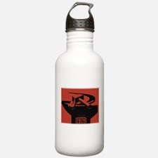 Stylish Hammer & Sickle Sports Water Bottle