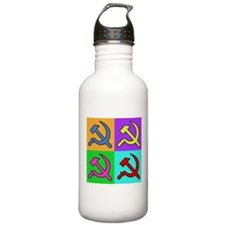 Warhol Style CCCP Sports Water Bottle