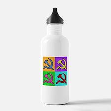 Warhol Style CCCP Water Bottle