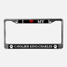 Black I Love My Cavalier King Charles Frame