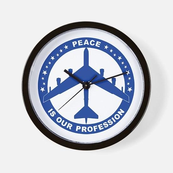 B-52H Peace Sign Wall Clock