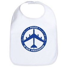 B-52H Peace Sign Bib