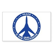 FB-111A Peace Sign Decal