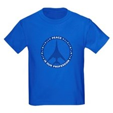B-1B Peace Sign Kid's T-Shirt (Dark)