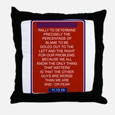 Unique Restore sanity Throw Pillow