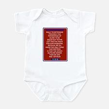 Funny Rally restore sanity Infant Bodysuit