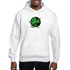 Snazzy Shamrock! Hoodie Sweatshirt