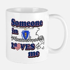 Someone in massachusetts loves me Mug