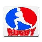 rugby player Mousepad